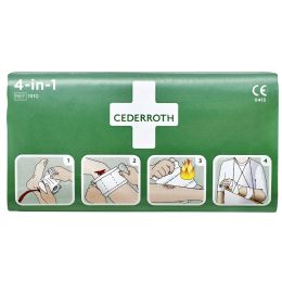 CEDERROTH 4-in-1 Blutstiller-Verband, universal