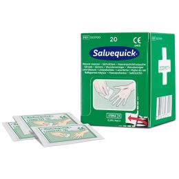 CEDERROTH Salvequick Wundreinigungstücher, 20er-Pack