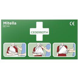 CEDERROTH Dreieckstuch Mitella, (B)96 x (T)96 x (H)136 mm