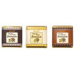 HELLMA Belgische Schokoladen-Täfelchen, in Runddose