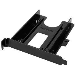 LogiLink PCI-Slot Einbaurahmen für 2,5 Festplatten, schwarz