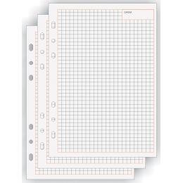 bind Ersatzeinlagen Notizblätter Manager, A5, kariert