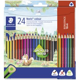 STAEDTLER Dreikant-Buntstift Noris colour, 12er Kartonetui
