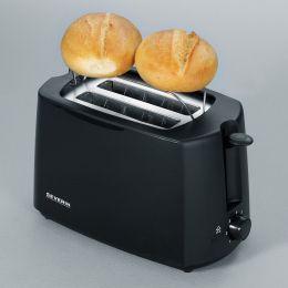 SEVERIN 2-Scheiben-Toaster AT 2287, 700 Watt, schwarz