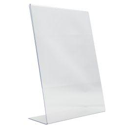 Securit Tischaufsteller Acrylic, DIN A8, schräg