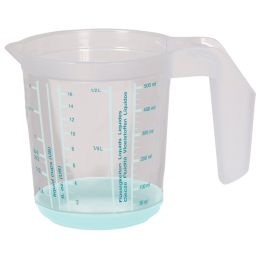 keeeper Messkanne massimo, 0,5 Liter, graphit/transparent