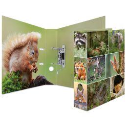 HERMA Motivordner Animals, DIN A4, Waldtiere