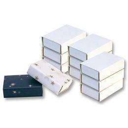 folia Streichholzschachteln, blanko, weiß