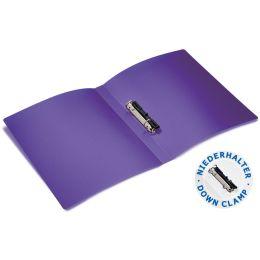 HERMA Ringbuch, DIN A4, 2-Ring-Mechanik, transluzent-violett