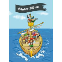 HERMA Stickeralbum Piratenabenteuer, DIN A5