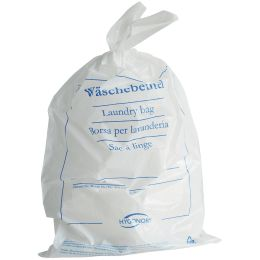 HYGOSTAR Wäschebeutel CLASSIC, PE-Folie, 540 x 380 mm