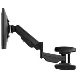 Fellowes TFT-/LCD-Monitorarm zur Wandbefestigung, schwarz