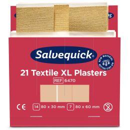 CEDERROTH Salvequick Pflaster-Nachfüllpackung, extra groß