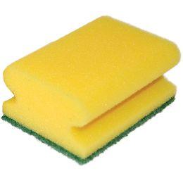 HYGOCLEAN Reinigungsschwamm CLASSIC, 95 x 70 mm, gelb