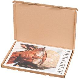 SMARTBOXPRO Großbrief-Versandkarton, DIN A4, braun