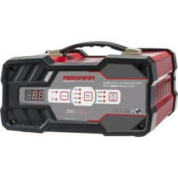 ABSAAR KFZ-Batterieladegerät mit Starthilfe 12A, 6/12V