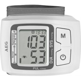 AEG Blutdruckmessgerät BMG 5610, weiß/grau