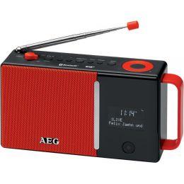 AEG DAB+/UKW-Radio DAB 4158, rot