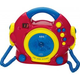 AEG Tragbarer CD-Player CDK 4229 Sing Along - für Kinder