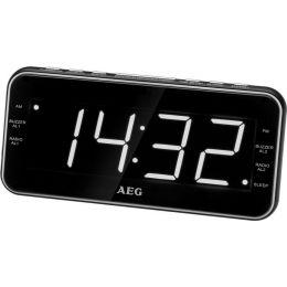 AEG UKW Uhrenradio MRC 4157, schwarz