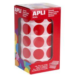 agipa apli Kids Sticker Creative Rund, auf Rolle, rot