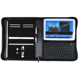 Alassio Bluetooth Tastatur im Organizer LOMBARDO, für iPad