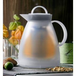 alfi Tee-Isolierkanne DAN TEA, 1,0 Liter, weiß