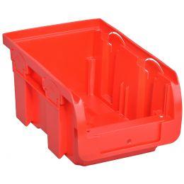 allit Sichtlagerkasten ProfiPlus Compact 2, aus PP, rot