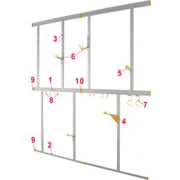 allit Vertikalprofil StorePlus Flex A, Breite: 750 mm