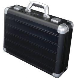ALUMAXX Attaché-Koffer VENTURE, Laptopfach, schwarz matt