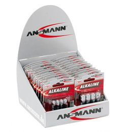 ANSMANN Alkaline Batterie RED, 22er Display