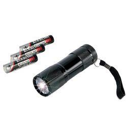 ANSMANN LED-Taschenlampe ACTION 9, mit Batterien