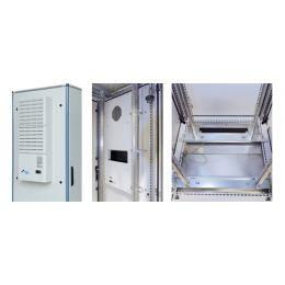 apranet 19 Netzwerkschrank TiRAX cool-box, IP54, 24 HE