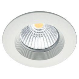 Arclite LED-Einbauleuchte roundCENTURY 5, 5 Watt, nickel