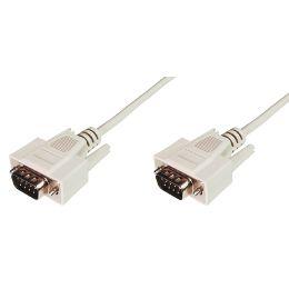 ASSMANN 9-Pol Sub-D Kabel, Stecker - Stecker, 2,0 m