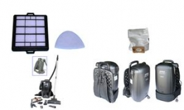ATRIX HEPA-Filter Set für Feinstaubsauger BackPack