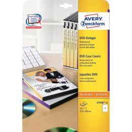 AVERY Zweckform DVD-Einleger für DVD-Boxen, weiß, matt