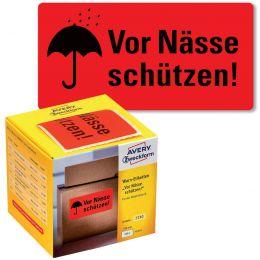 AVERY Zweckform Etikettenrolle Vor Nässe schützen!
