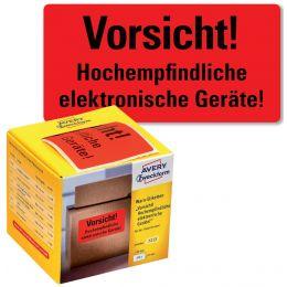 AVERY Zweckform Etikettenrolle Vorsicht!