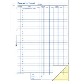 AVERY Zweckform Formularbuch Ausgabebeleg, A6 quer, gelb