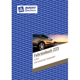 AVERY Zweckform Formularbuch Fahrtenbuch, Drivers Edition