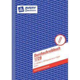 AVERY Zweckform Formularbuch Gesprächsnotiz, A5, 50 Blatt