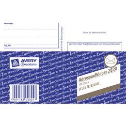 AVERY Zweckform Formularbuch Postkartenheft, A6 quer
