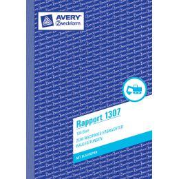 AVERY Zweckform Formularbuch Rapport, A6, 100 Blatt