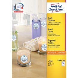 AVERY Zweckform Kennzeichnungs-Etiketten, Durchmesser: 40 mm