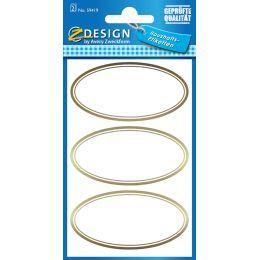AVERY Zweckform Z-Design Haushaltsetiketten oval