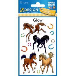 AVERY Zweckform ZDesign Leucht-Sticker Pferde
