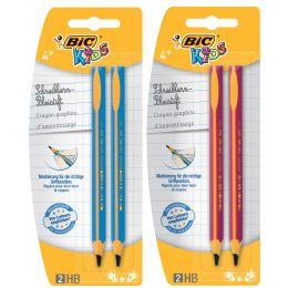 BIC KIDS Bleistift Evolution, Härtegrad: HB, 2er Blister