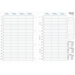 bind Ersatzkalender 2019 für Terminplaner A4 Modell T4/T400