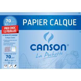 CANSON Transparentpapier, satiniert, DIN A4, 70 g/qm